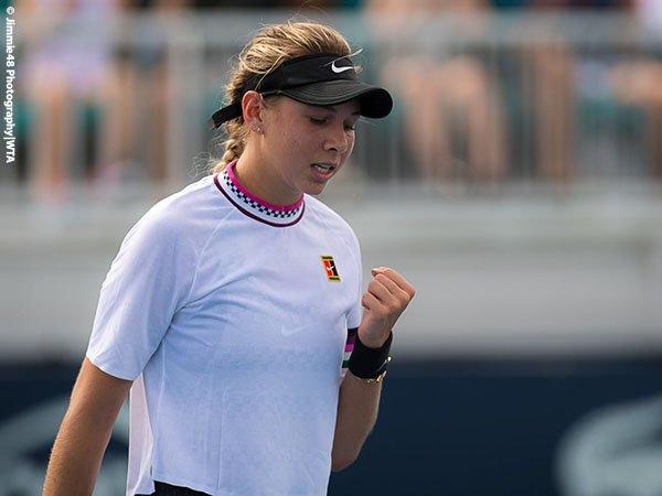 Amanda Anisimova Lalui Tantangan Pertama Di Miami