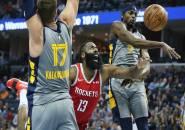 James Harden Gagal Selamatkan Rockets Dari Kekalahan Kontra Grizzlies