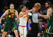 Atlanta Hawks Menangi Laga Sengit Kontra Utah Jazz