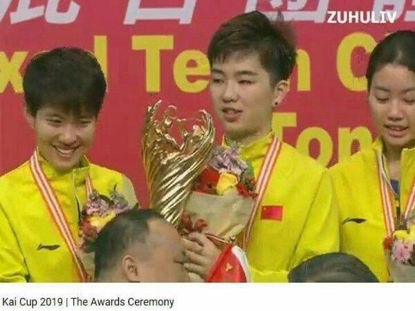 Kandaskan Jepang, China Kampiun Kejuaraan Beregu Campuran Asia 2019