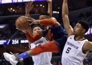 Westbrook-George Melempem, Thunder Tak Berdaya di Tangan Grizzlies