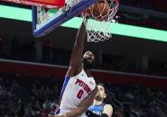 Duo Bigman Dominan, Pistons Pukul Mundur Magic