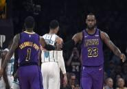 Tampil Perkasa, Lakers Petik Kemenangan Telak Kontra Hornets