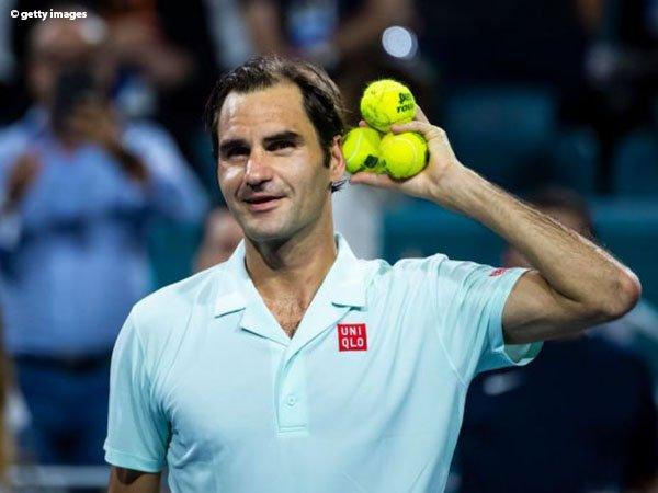 Begini Rencana Roger Federer Hadapi John Isner Demi Gelar Ke-101