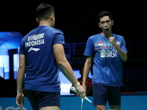 Singkirkan Unggulan, Wahyu/Ade Lolos Babak Kedua Malaysia Open 2019