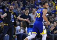 Stephen Curry Panas, Warriors Tumbangkan Cavaliers