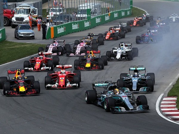 Jadwal Lengkap Formula 1 GP China 2019