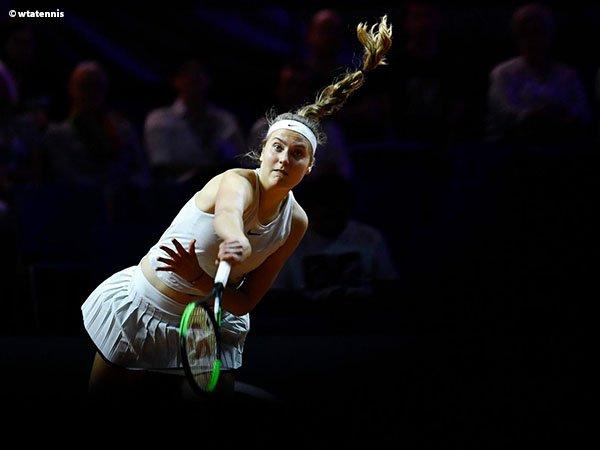 Antonia Lottner Permalukan Belinda Bencic Di Lugano