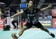Singkirkan Chen Long, Ginting Melaju ke Semifinal Singapore Open