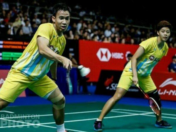 Kandaskan Peringkat 1 Dunia, Dechapol/Sapsiree Tembus Final Singapore Open 2019