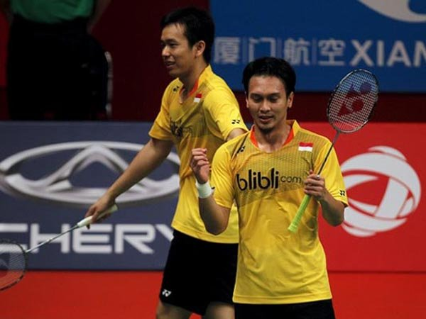 Menang Head to Head, Modal Hendra/Ahsan Pertahankan Gelar Singapore Open
