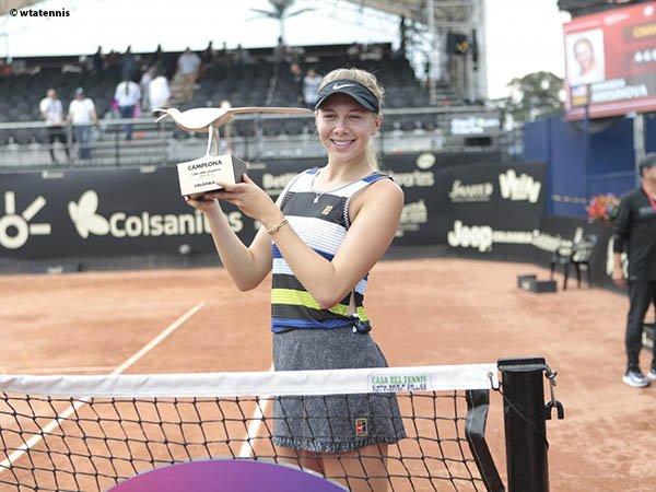Amanda Anisimova Kantongi Gelar Pertama Dalam Kariernya Di Bogota