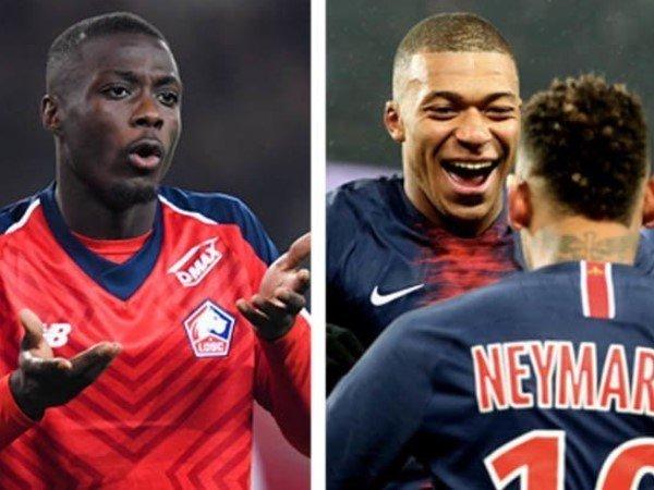 Bos Lille Tak Ingin Nicolas Pepe Disamakan dengan Kylian Mbappe
