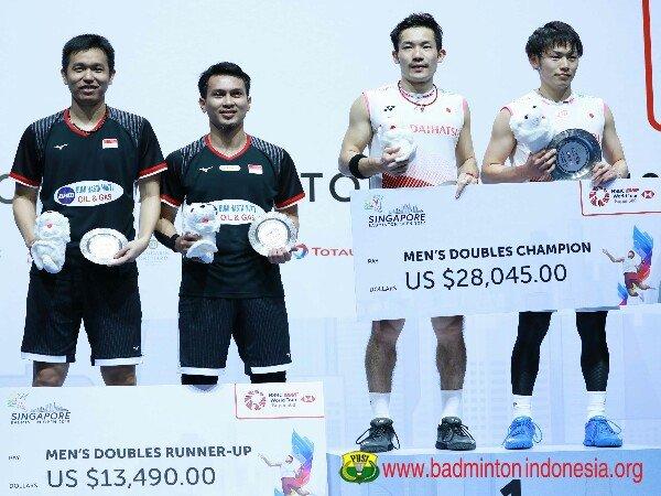 Hasil Final Singapore Open 2019: Jepang Borong Tiga Gelar Juara