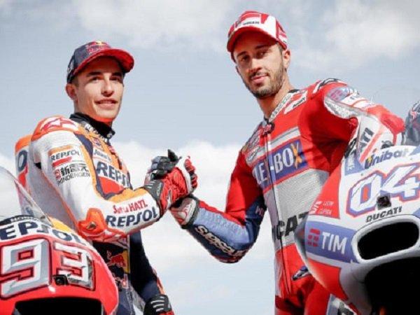Marquez Kecelakaan, Dovizioso Akhirnya Tahu Kelemahan Rival Terberatnya