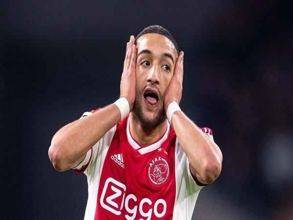 Ziyech Buka Peluang Tinggalkan Ajax Demi Roma
