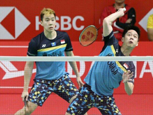 Kevin/Marcus Unggulan Teratas Badminton Asia Championships 2019