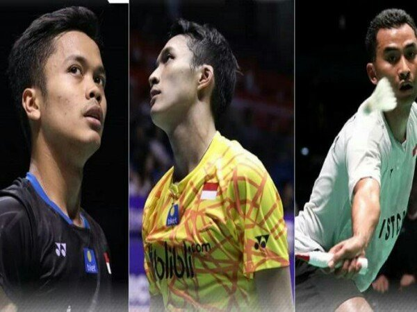 Tiga Tunggal Putra Indonesia Jadi Unggulan di Badminton Asia Championships 2019