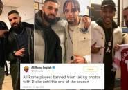 Percaya pada Kutukan, AS Roma Larang Pemainnya Berfoto dengan Drake