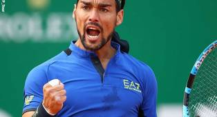 Fabio Fognini Pastikan Rafael Nadal Pulang Tanpa Gelar Monte Carlo Open
