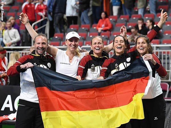 Hasil Fed Cup: Mona Barthel Menang, Jerman Kalahkan Latvia Di Riga