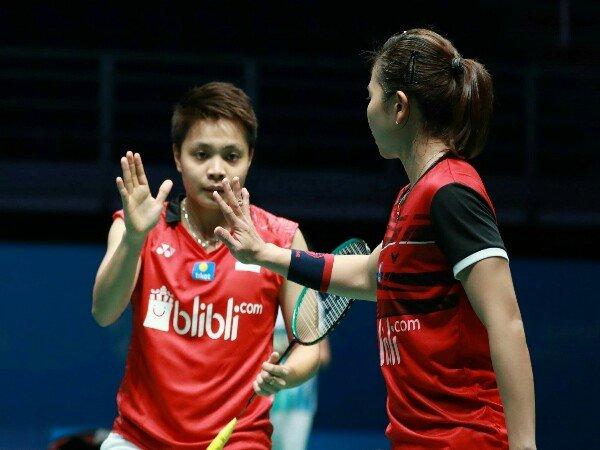 Greysia/Apriyani Terhenti di Babak Pertama Kejuaraan Asia 2019