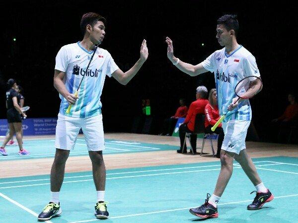 Kejuaraan Asia 2019: Fajar/Rian Menang Mudah di Babak Pertama