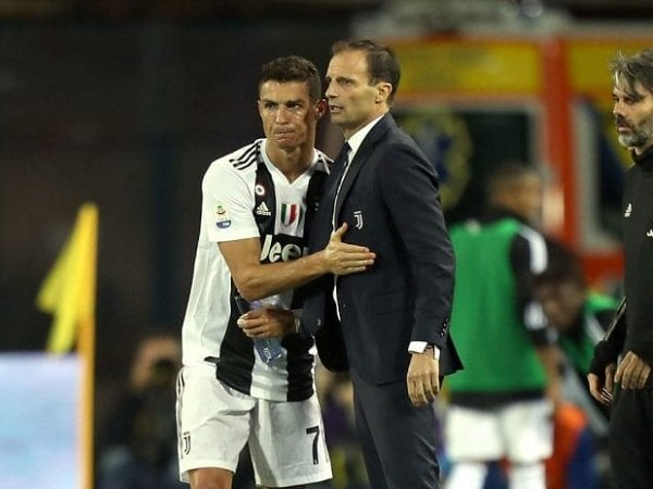 Cristiano Ronaldo Minta Juventus Ganti Allegri dengan Guardiola?