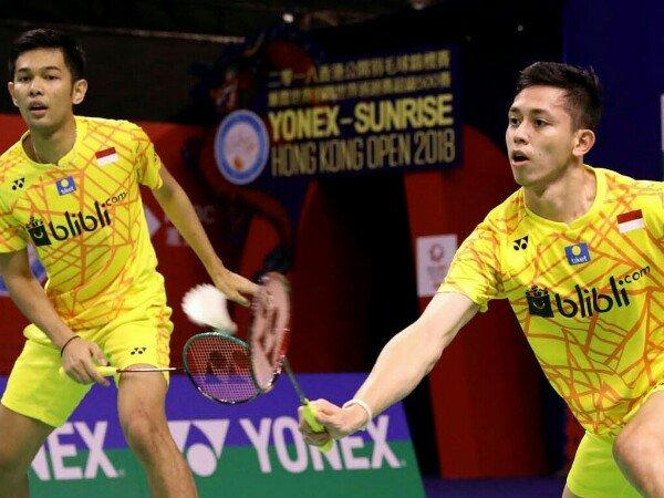 Fajar/Rian Terhenti di Babak Kedua Kejuaraan Asia 2019