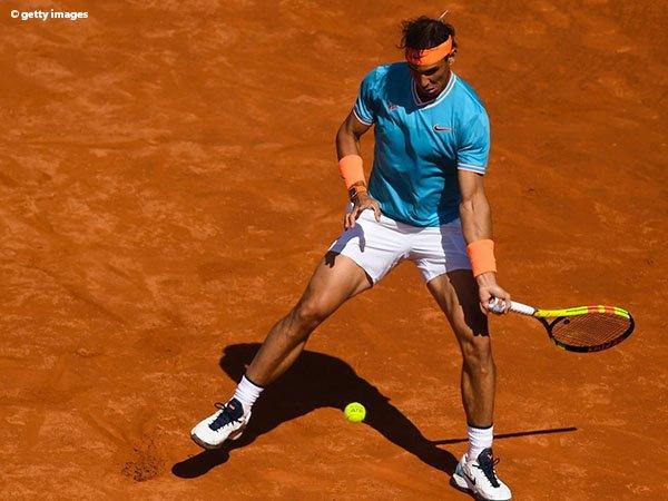 Rafael Nadal Bertahan Dari Gempuran Leonardo Mayer Di Barcelona