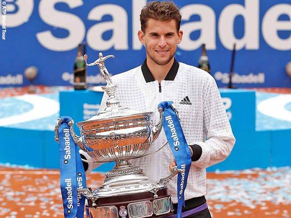 Dominic Thiem Naik Podium Juara Di Barcelona