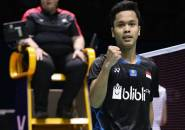 Anthony Ginting Melaju Mulus ke Perempat Final New Zealand Open 2019