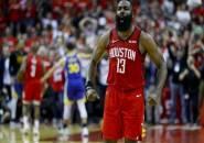 Houston Rockets Susah Payah Kalahkan Golden State Warriors di Game Ketiga