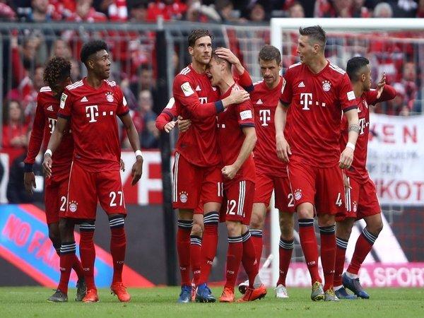 Taklukkan Hannover 3-1, Bayern Sedikit Lagi Kunci Gelar Bundesliga
