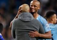 Saat Jeda, Guardiola Minta Kompany Bobol Gawang Leicester