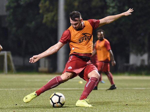 Kembali Berlatih Bersama Persija, Marko Simic Merasa Seperti Terlahir Kembali