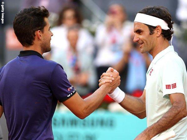 Tak Gentar Hadapi Roger Federer, Dominic Thiem Siap Ramaikan Semifinal Di Madrid