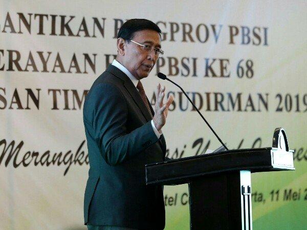 Jelang Piala Sudirman 2019: Wiranto Minta Doa & Dukungan Rakyat Indonesia