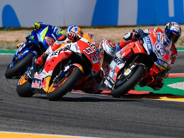 Tergusur Dari Puncak Klasemen, Dovizioso Berikan Pujiannya Kepada Marquez