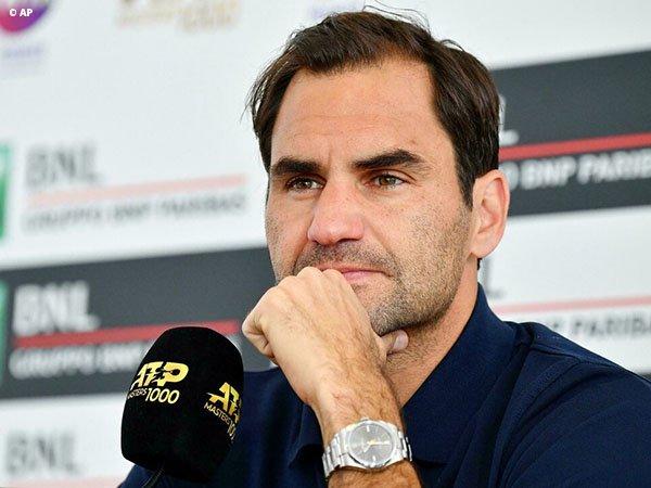 Turun Di Roma, Roger Federer Ingin Lakoni Lebih Banyak Pertandingan Di Clay-Court