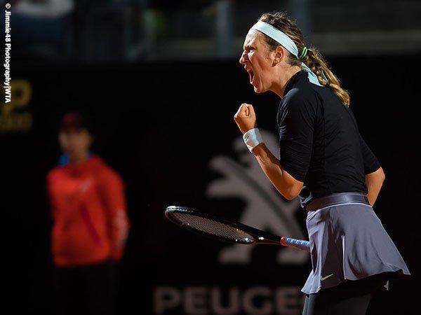 Victoria Azarenka Kubur Mimpi Juara Bertahan Cetak Hattrick Di Roma