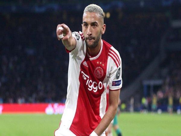 Hakim Ziyech Akan Tinggalkan Ajax Amsterdam
