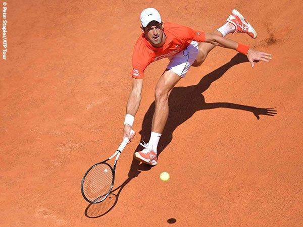 Lakoni Dua Laga Sekaligus Di Roma, Tidak Buat Novak Djokovic Kewalahan