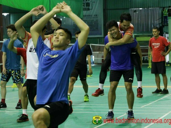 Piala Sudirman 2019: Tim Indonesia Jajal Arena Pertandingan
