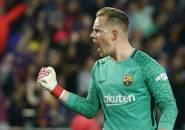 Ter Stegen Terancam Gagal Tampil di Final Copa del Rey