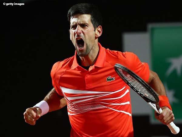 Novak Djokovic Susah Payah Tumbangkan Juan Martin Del Potro Di Roma