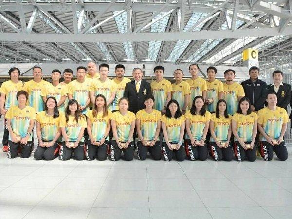 Thailand Targetkan Perempat Final di Piala Sudirman 2019
