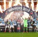 Bahagianya Guardiola Usai City Catat Sejarah Baru di Sepakbola Inggris