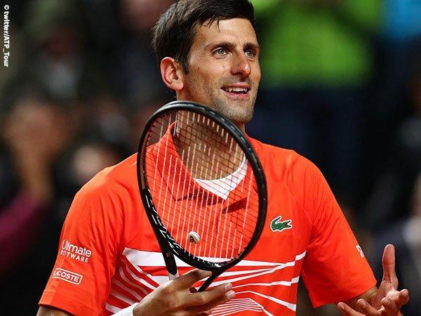 Jumpa Di Final Roma, Novak Djokovic Tantang Rafael Nadal Untuk Kali Ke-54