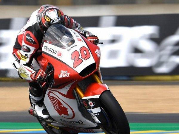 Hasil Moto2 Prancis: Alex Marquez Menang, Dimas Ekky Jatuh Lagi